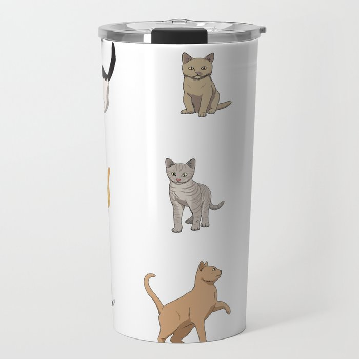 Baesic Cat Pack Travel Mug
