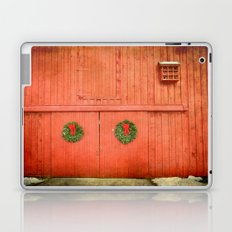 Christmas Barn Laptop & iPad Skin