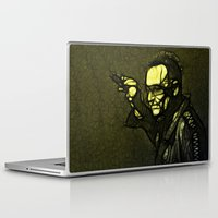 u2 Laptop & iPad Skins featuring U2 / Bono 1 by JR van Kampen