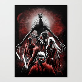 Legendary Guardians Canvas Print