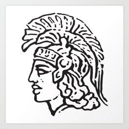 Minerva Art Print