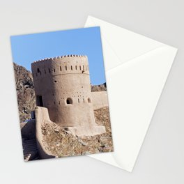 Watch tower in old Muscat - Oman Stationery Cards