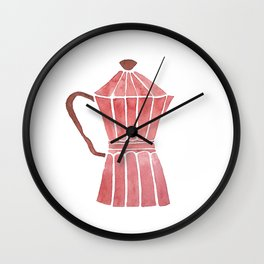 Cuban Coffee Wall Clock