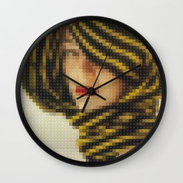 Lego: Vogue Cover July 1951 Wall Clock