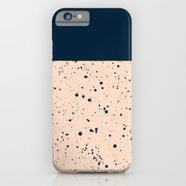 XVI - Dark Blue iPhone Case