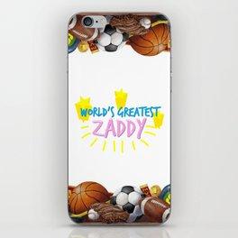 Zaddy iPhone Skin