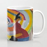 dancing Mugs featuring Dancing by Carey Piascik