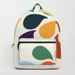 Colorful Water Drops Backpack