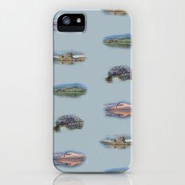 Highland Landmarks in blue iPhone Case