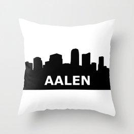 Aalen Skyline Throw Pillow