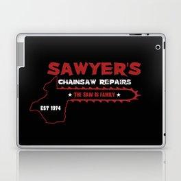 Sawyer's Chainsaw Repair Laptop & iPad Skin