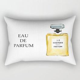 Yellow Parfum Rectangular Pillow