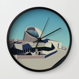 Soviet Modernism: Youth Metro Station in Yerevan, Armenia Wall Clock