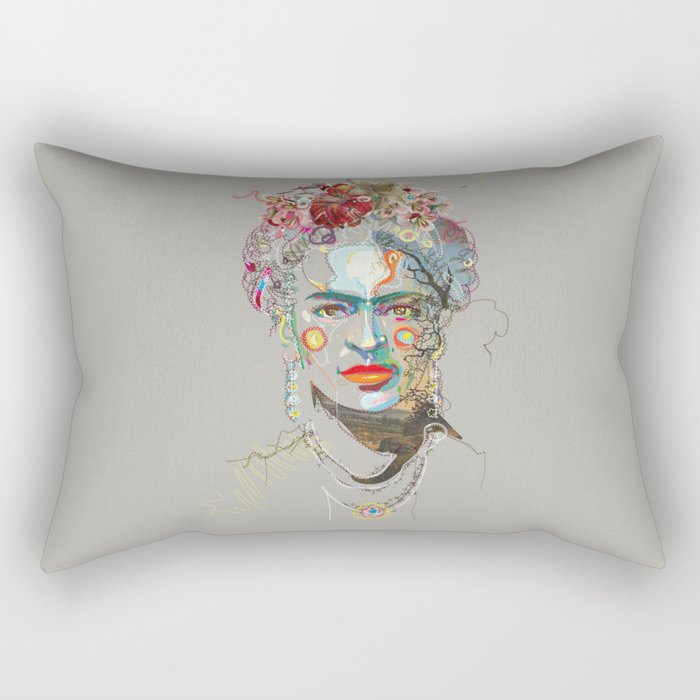 Frida Kahlo (3) Rectangular Pillow