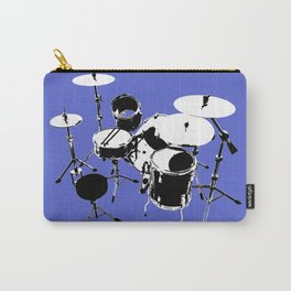 Drumkit Silhouette (backview) Carry-All Pouch