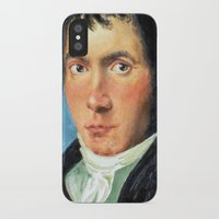 beethoven iPhone & iPod Cases featuring Beethoven by SuchDesign