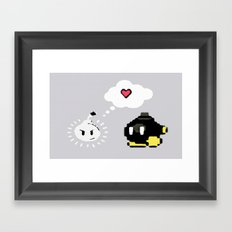Love! Bob-omb Framed Art Print