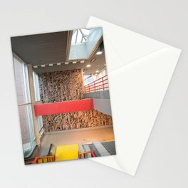 Detroit People Mover Art Broadway Stationery Cards