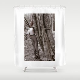 Natural Angles Shower Curtain