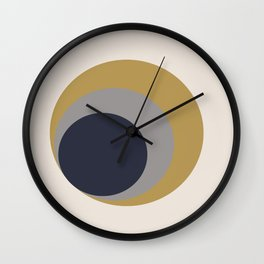 Nested Circles Wall Clock