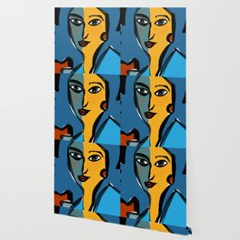 Staring at Matisse Wallpaper