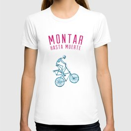 "Skeleton Bike - ""Montar Hasta Muerte"" T-shirt"