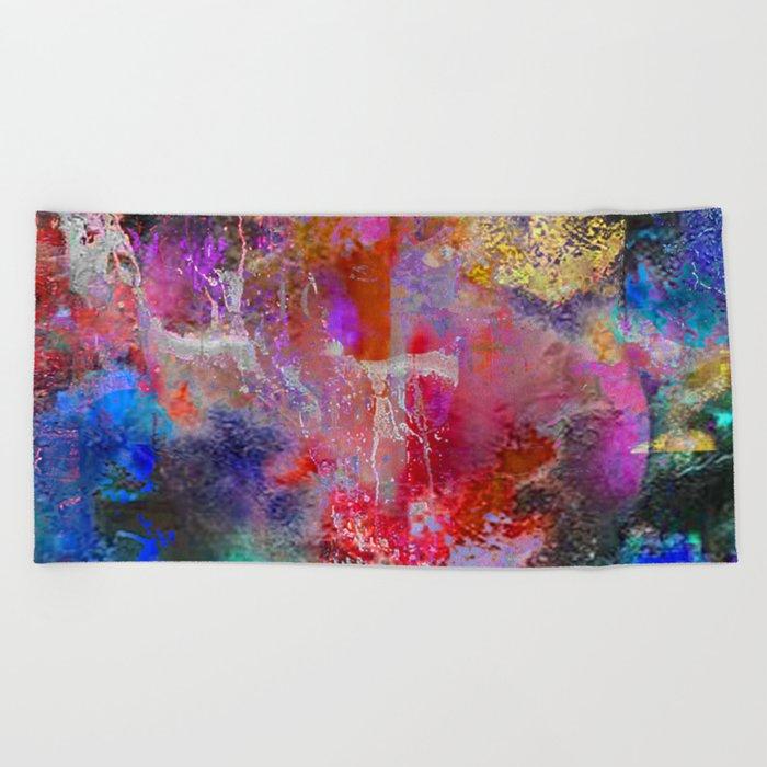 Faire abstraction 5 Beach Towel
