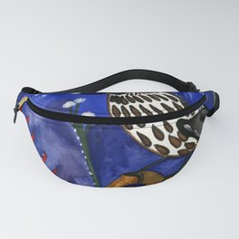 Silver Moon Berries Fanny Pack