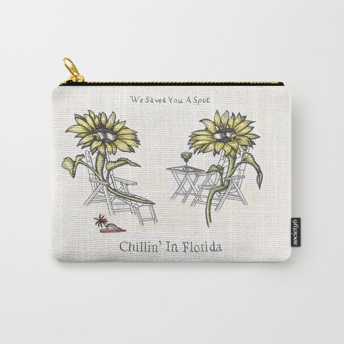 Chillin' in Florida Carry-All Pouch