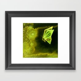 Butterfly Origami 2 Framed Art Print