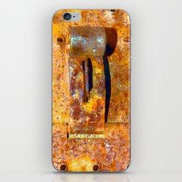 Industrial Lock iPhone Skin