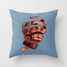 E=M.C. Escher Throw Pillow
