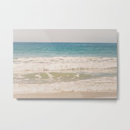 Beach Waves Metal Print