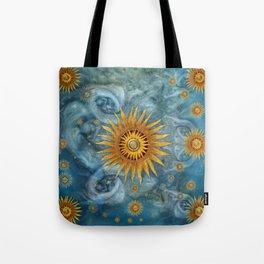 """""""Saturn mandala celestial vault"""" Tote Bag"""