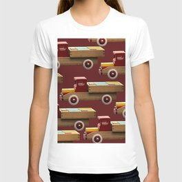 Vintage wooden toy truck #decor #society6 #buyart T-shirt