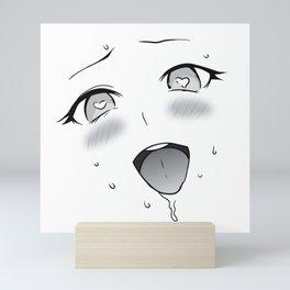 Ahegao Mini Art Print