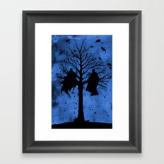 The Bat & The Bird Framed Art Print