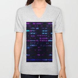 Cyberpunk Apartments Unisex V-Neck
