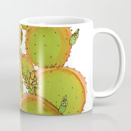 Cactus doodle 6 - alcohol ink Coffee Mug