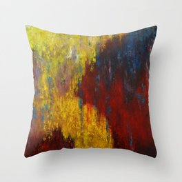 Dripping Color Throw Pillow