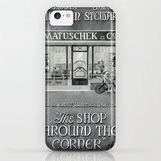 The shop around the corner Slim Case iPhone 5c