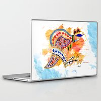 kangaroo Laptop & iPad Skins featuring Kangaroo by Armyhu