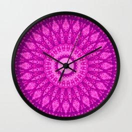 MANDALA NO. 34 #society6 Wall Clock