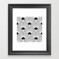 Art Deco Fans Framed Art Print