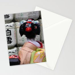 Geisha Maiko III Stationery Cards