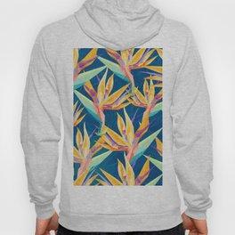 Strelitzia Pattern Hoody