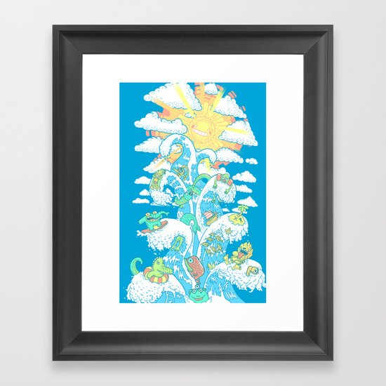 Towe of Fable Framed Art Print