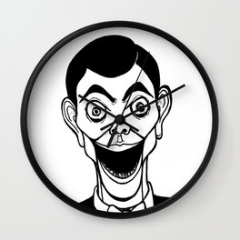 Night of the Living Dummy Wall Clock