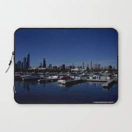South Side Skyline (Chicago Northerly Island Collection) Laptop Sleeve
