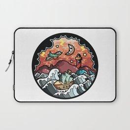 Storm landscape Laptop Sleeve